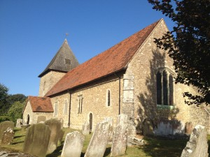 St. Dunstans church, West Peckham