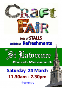 Mereworth craft fair